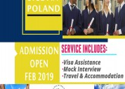 Study in poland and explore europe