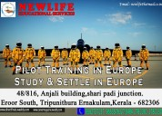 Study pilot training course in europe