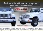 Thar modifications -vin 4x4 hardtops in bangalore