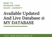 Bangalore database providers