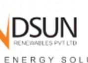 Best solar power system service provider company i