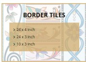Border tiles dehli, plain border tiles dehli, vitr