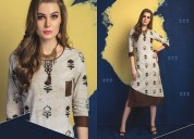 Get the wonderful cotton kurtis from manufacturers