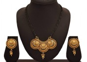Fine gold plated mangalsutra at lowest price