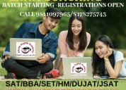 Bba/hm coaching for entrance exam in indirapuram