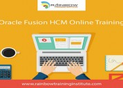 Oracle fusion hcm online training | oracle cloud