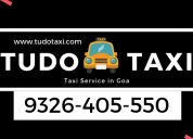 Online taxi booking in goa