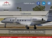 Private aircraft for sales in india