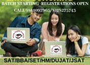 Bba coaching for entrance exam in indirapuram
