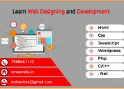 Best web designing and web development training