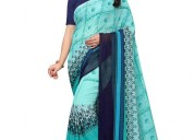 Shop new arrivals of georgette sarees at lowest prices
