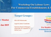 Work shop on labour laws in mumbai