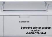 Samsung printer support number  +1-888-597-3962
