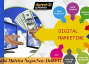 Aptechmalviyanagar offers digital marketing course