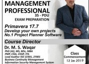 Pmp - project management professional training