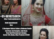 Bridal makeup artist in noida, dial +91-9810253024