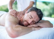 Male to male massage and funn
