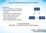 hr edge training in hyderabad
