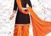 Patiyala salwar suit with free shipping