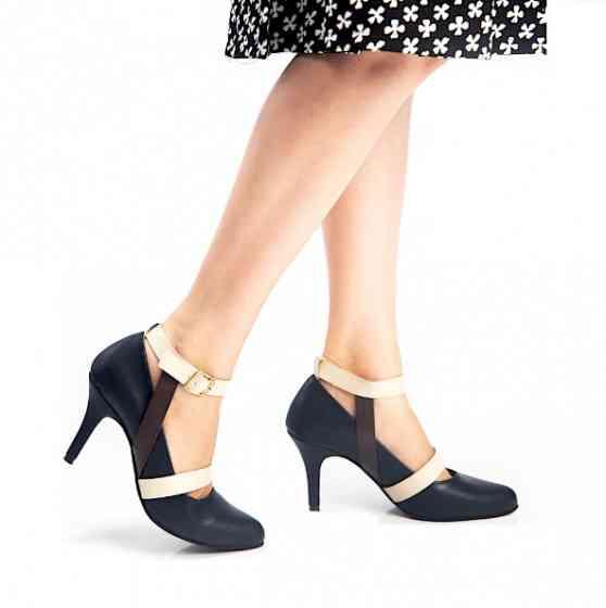 Buy Laurie Dark Brown Formal Court Heels for Women