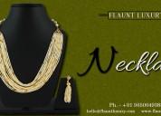 Flaunt luxury: buy fashion, traditional jewellery