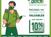 Commercial pest treatment