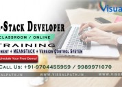 Full stack web developer training in hyderabad