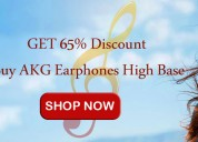 Generic univesal high bass earphones headphone in-