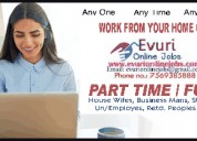 Full time / part time home based data in urcity