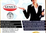 Salary certificate attestation for uae