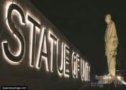 Gujarat narmada tent city - statue of unity