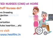 Certified Nursing Assistant (CNA) / Registered Nur