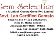 Mr. pankaj khanna, gem selections featured in saha