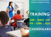Sat/pte/gmat/ielts/gre &toefl training @chandigarh