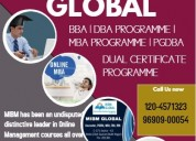 Online mba courses in india