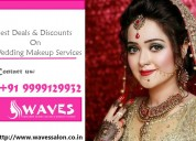 Bridal makeup service in noida, dial 9999129932