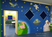 Wall painting for play school