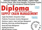 Diploma in supply chain management with erp scm tr