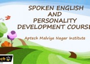 Aptech malviya nagar offers english training