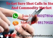 Best investment advisory services-starindia market