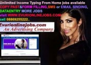Online  working jobs from home