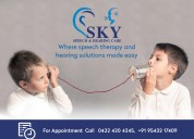 Reinventing ways of speech therapy and hearing aid