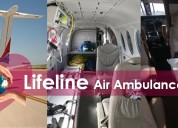 Pick the comprehensive air ambulance from patna at
