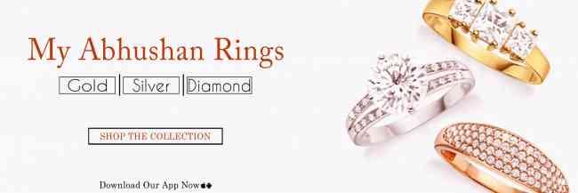 Latest Diamond rings an affordable price   MyAbhus