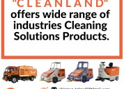 Industrial cleaning machines manufacturers