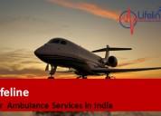 Lifeline air ambulance from jamshedpur
