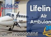 Book the reliable air ambulance from delhi with ad