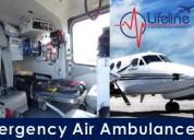 Hire hi-tech air ambulance from patna at very mini