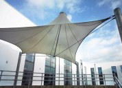 How they build the best tensile structure in delhi