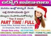 Online copy paste jobs - amalapuram
